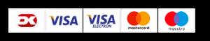 Dankort betalings logoer