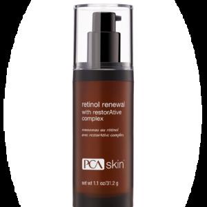 Retinol renewal PCA skin