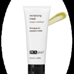 Revitalizing mask PCA skin